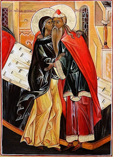 Resultado de imagem para São Zacarias e Santa Isabel e João Batista