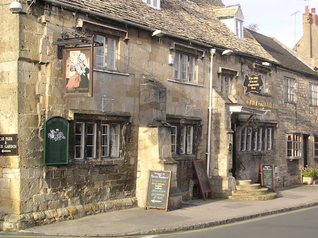 A pub in Winchcombe, Cotswolds