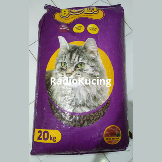 Review Makanan Kucing Bolt Tuna Cat Food Radiokucing Com
