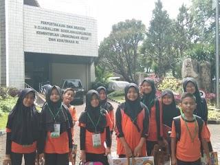 10 Pelajar SDN Jelambar 08 Jakarta Barat Ikuti Lomba Menggambar & Mewarnai Kementerian LHK