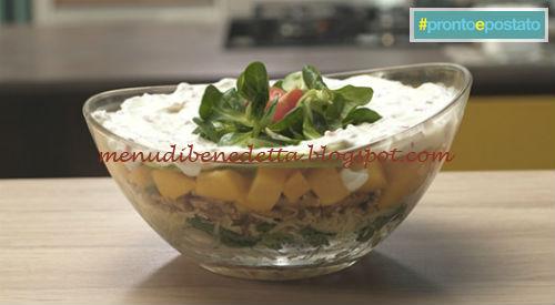 Pronto e postato - Seven salad ricetta Benedetta Parodi