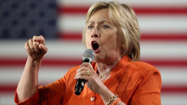 """Clinton: Trump """"ha cruzado la línea"""" e incita a la violencia"""