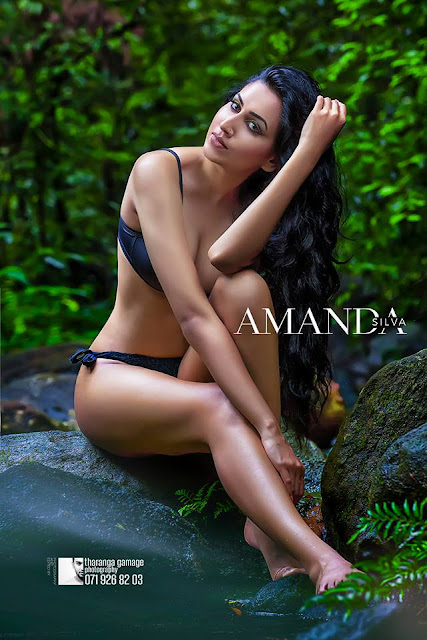 Nilukshi Amanda Silva Hot Bikini photoshoot
