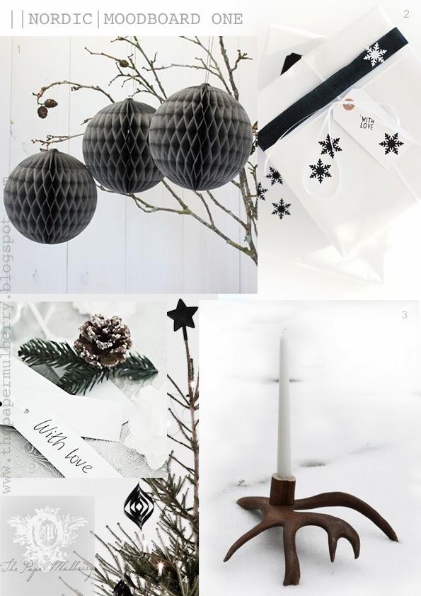 Antler Christmas Tree Ornaments