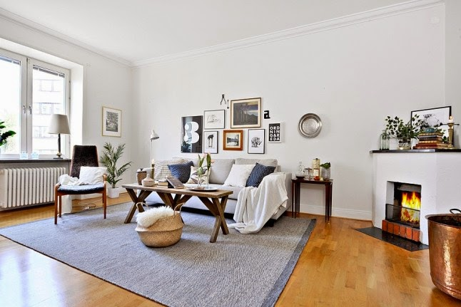 Un apartamento de estilo escandinavo diferente  Decoracin