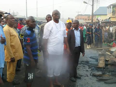 Governor of Ekiti state,  Ayodele Fayose