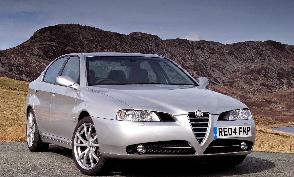 Facelifted Alfa 166