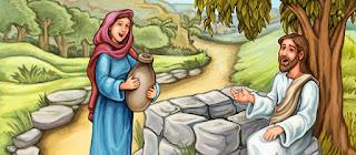 Resultado de imagen para En aquel tiempo: Jesús llegó a un pueblo de Samaría llamado Sicar,