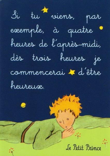 Frases Do Pequeno Principe Em Frances