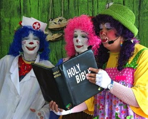 clowns and Bible