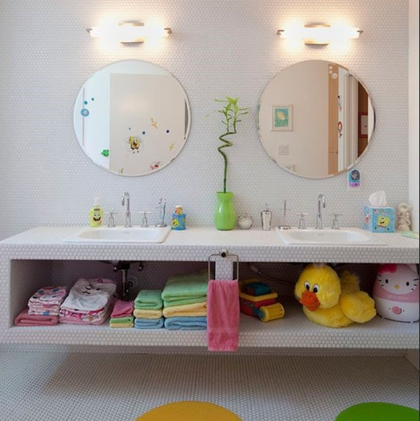 Fotos ideas para decorar casas Banos infantiles fotos
