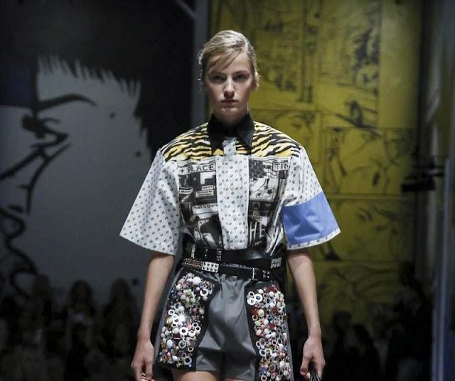 Prada Ready-to-wear Spring Summer 2018 Milan Fashion Week