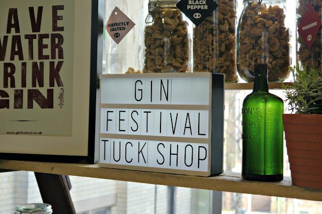 gin festival tuck shop