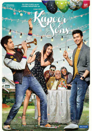 Kapoor and Sons 2016 BluRay 950MB Full Hindi Movie Download 720p Watch Online Free bolly4u