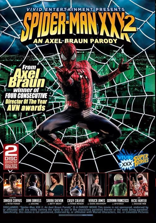 Spider Man XXX 2 – An Axel Braun Parody NEW 2014