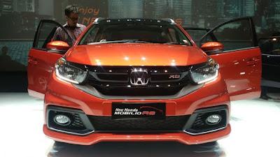 2017 Honda Mobilio Facelift front image