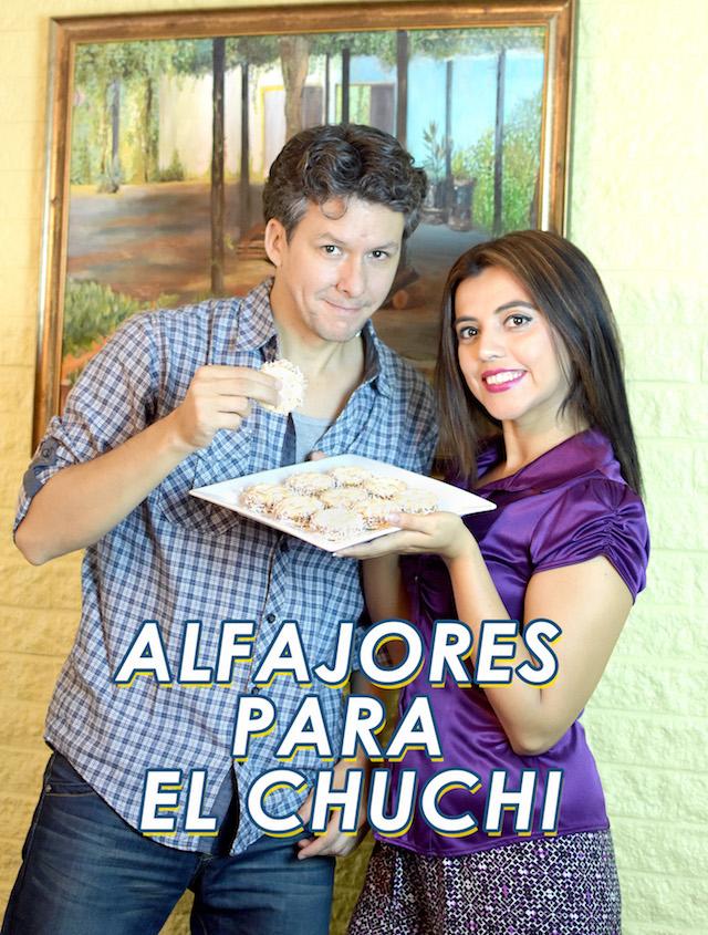 Alfajores De Dulce De Leche Para El Chuchi, con La Lechera.