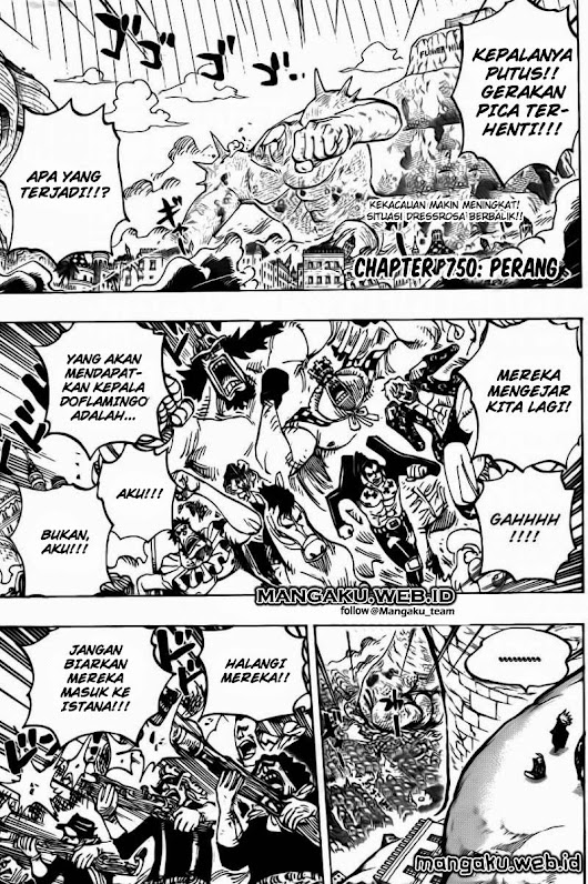 Baca Manga Terbaru Online: Manga One Piece Chapter 750 Bahasa Indonesia