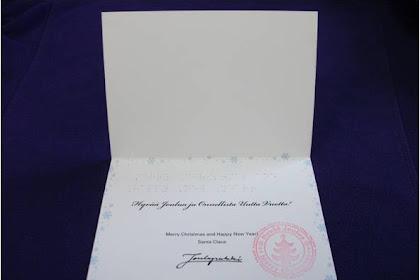 サンタクロースからの手紙が未着・遅延、苦情相次ぐ!