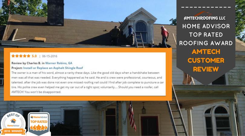 Asphalt Roofing Amtech Roofing Customer Love Them