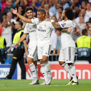 Madrid Put Three Goals Past Roma