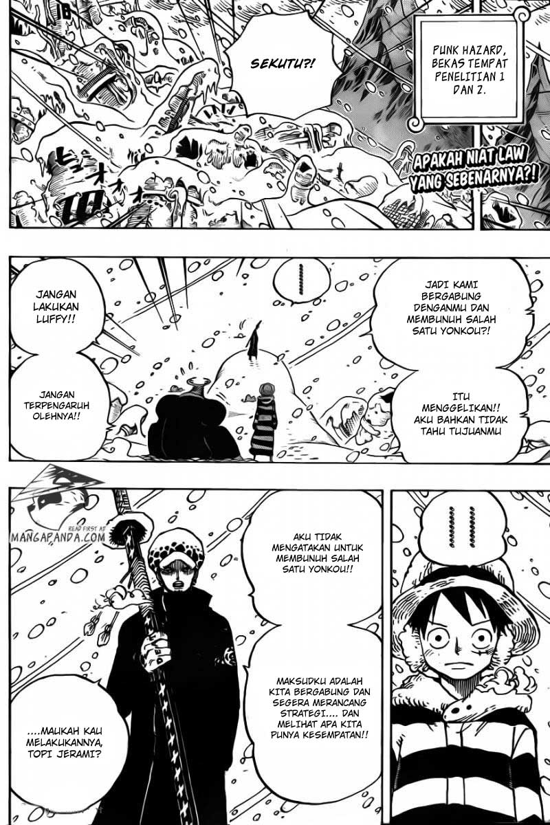 003 One Piece 668   Sekutu Bajak Laut