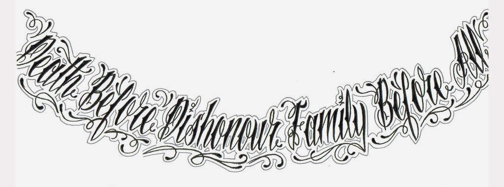Different Tattoo Styles: All About Tattoos And Ink: About Tattoo Fonts