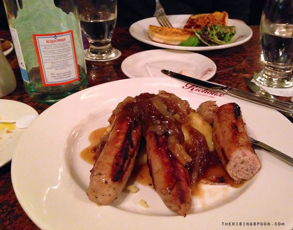 Bangers n' Mash in London, England | therisingspoon.com