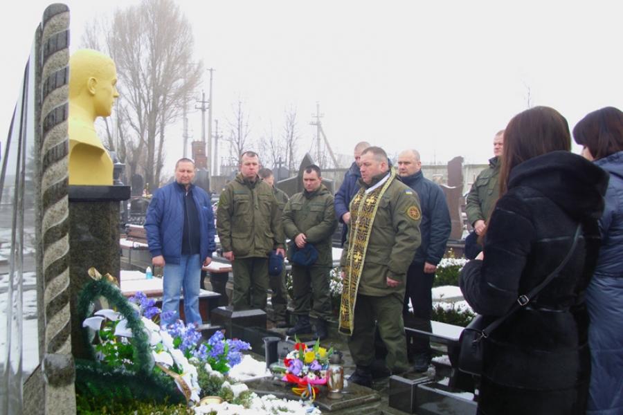у Тернополі вшанували пам'ять загиблого у Косово миротворця старшого лейтенанта Ігоря Киналя
