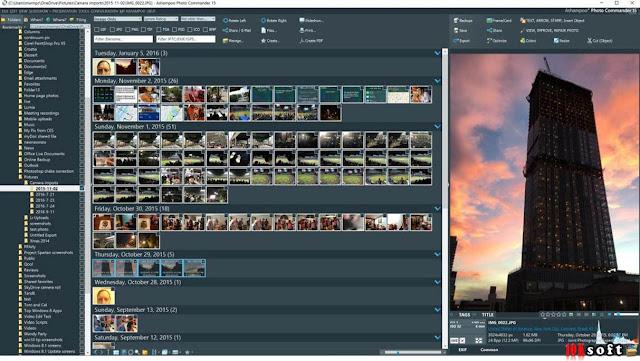 Ashampoo Photo Commander 15 offline installer Free Download