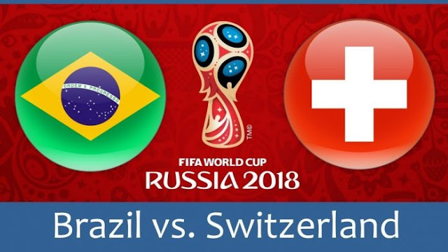 Brazil vs Switzerland Full Match Replay 17 June 2018