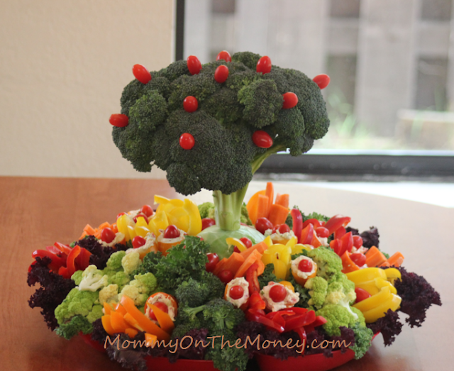 Earth Day Veggie Tray