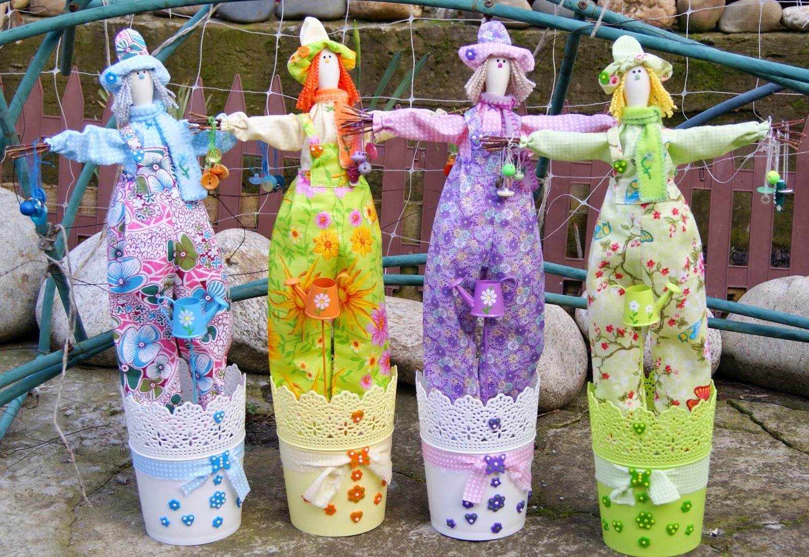 чучело, тильда, сад, текстильная кукла, тильдовская кукла, пугало огородное, пугало,