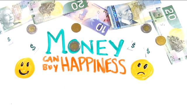 uang dapat membeli kebahagiaan
