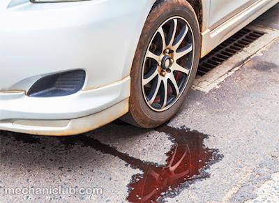 تعرف على طبيعة السائل المتسرب من سيارتك بنفسك