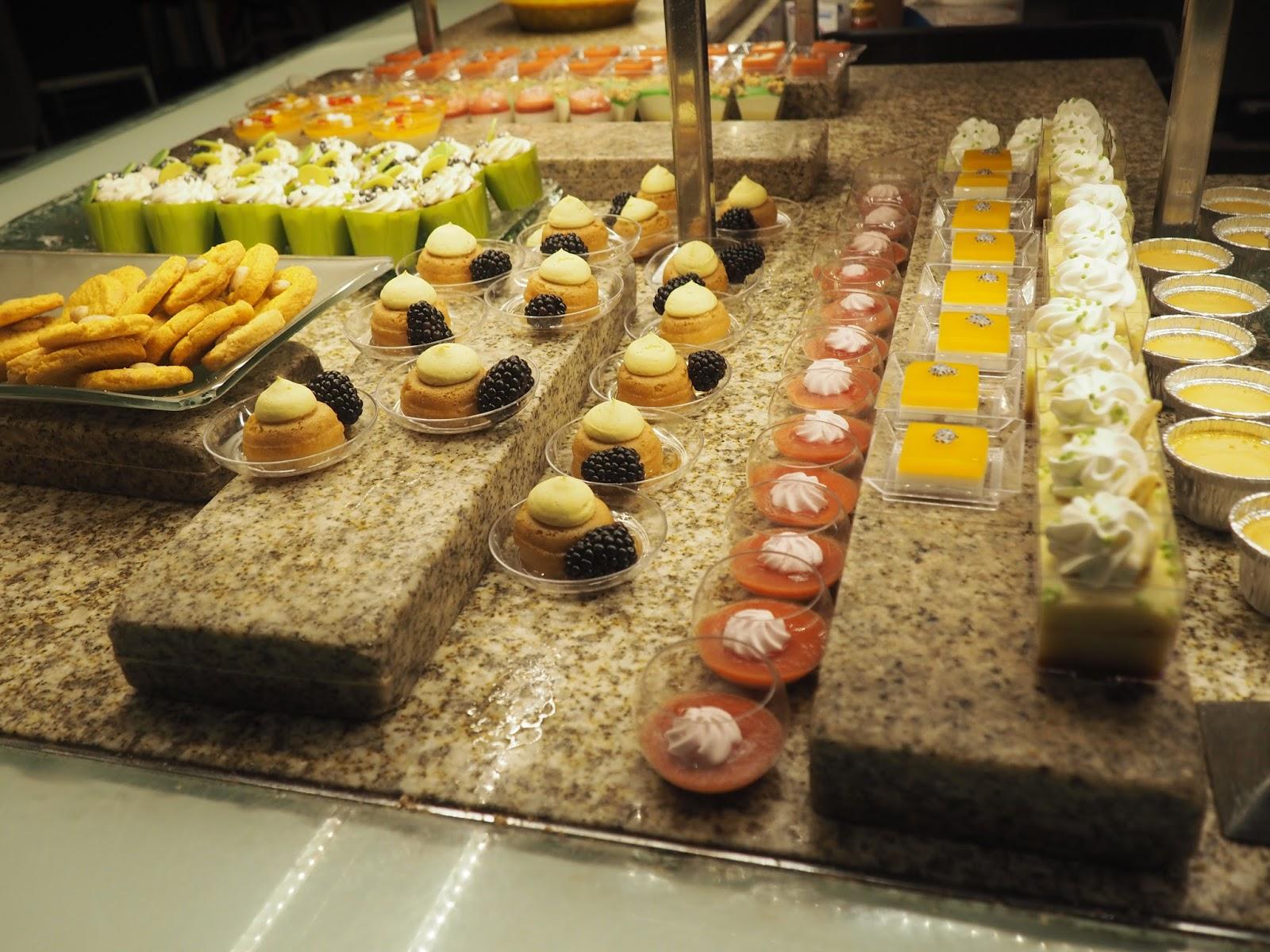 Desserts at Baachanal Buffet at Caesar's Palace, Las Vegas