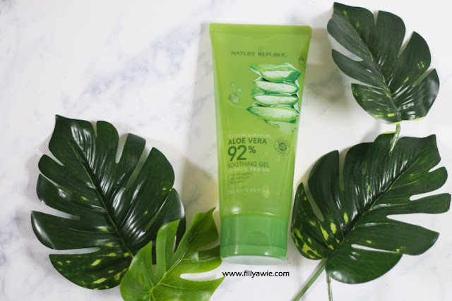 'nature republic aloe vera soothing gel'