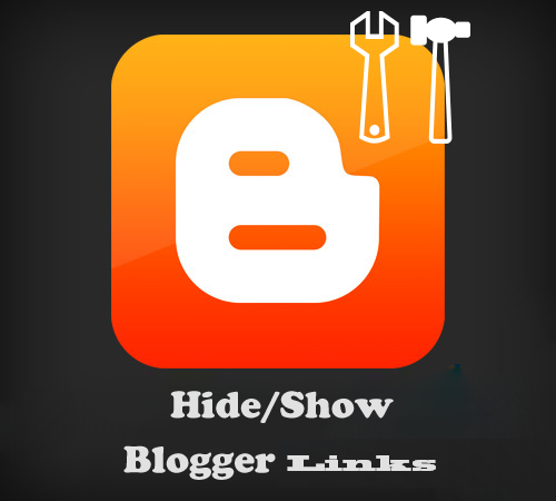How to Create Hide or Show Links for Posts on Blogger : easkme