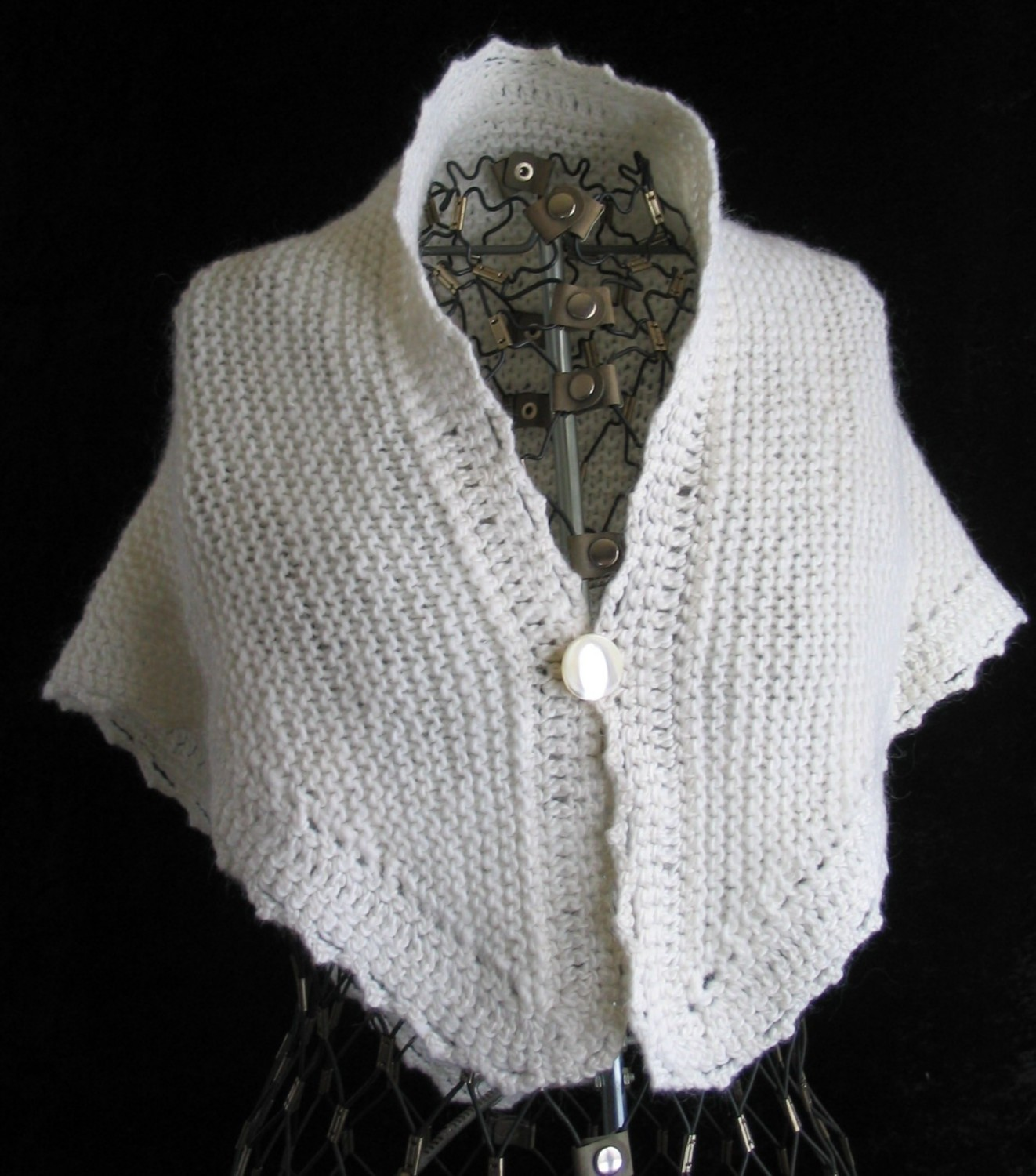 free knitting pattern: best 2012 knitting shawl patterns
