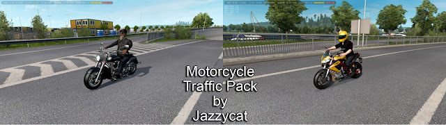 ats motorcycle traffic pack v2.7 screenshots 1, Benelli Tornado Naked Tre R160, Kawasaki VN2000 Vulcan