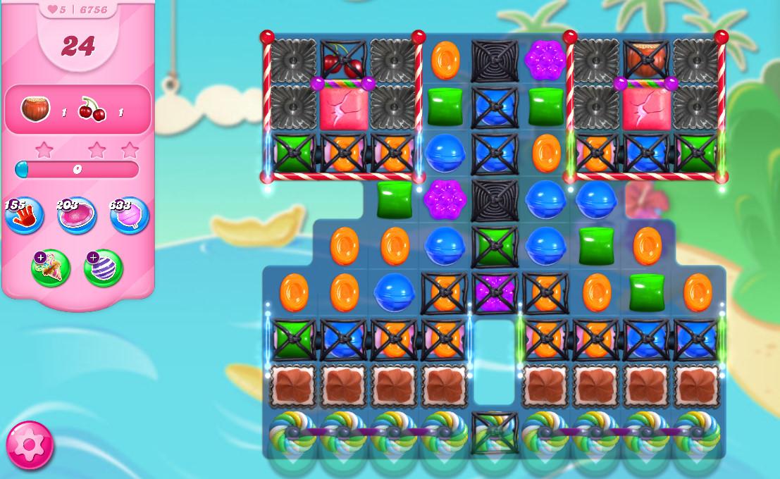 Candy Crush Saga level 6756