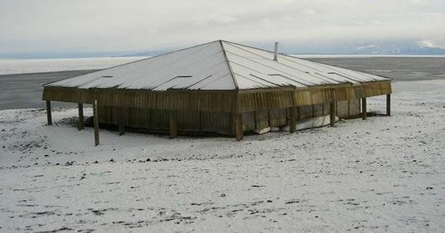 σπίτι στα βάθη της παγωμένης Ανταρκτικής