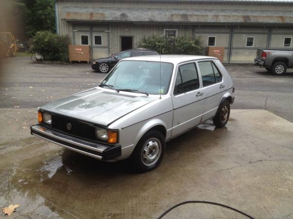 1984 Vw Rabbit 4 Door Diesel Hatchback Buy Classic Volks