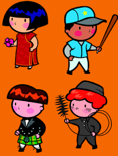 Clip Art: Serie de Personajes (5)