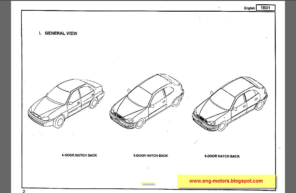 Daewoo lanos spare parts 2006 ~ Service & Spare Parts Catalog