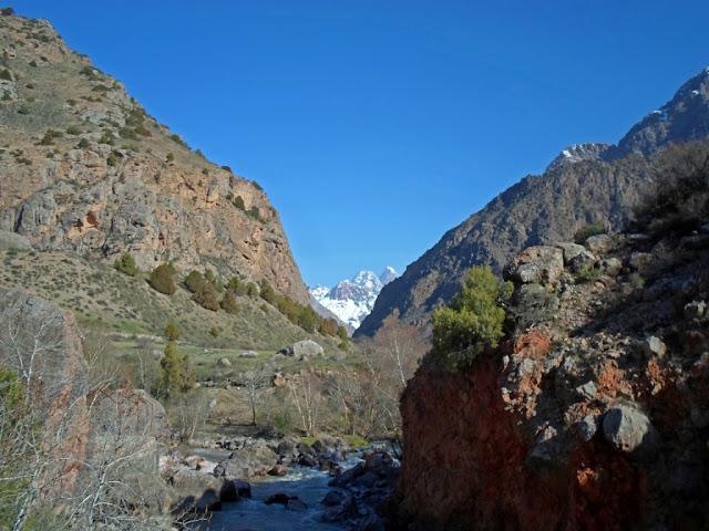 Ущелье Арг, Фанские горы, Таджикистан - фото-обзор похода