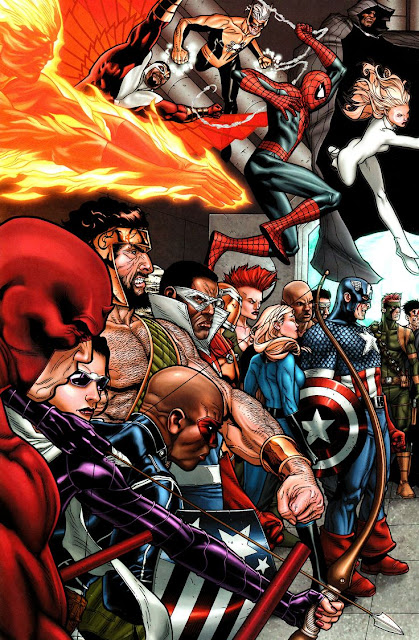 Capitan America Daredevil Spider-Man