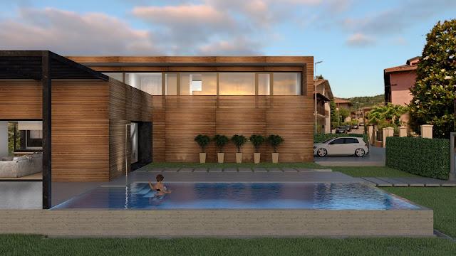 Casa in Legno progetto di estudoquarto