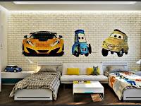 Kinderzimmer Wände Farblich Gestalten