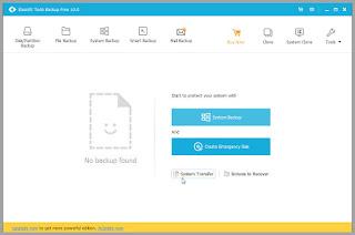 EaseUS Todo Backup Free : Δημοφιλές λογισμικό δημιουργίας αντιγράφων ασφαλείας
